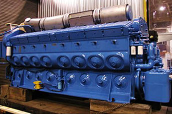 Full rail services for diesel components distribution