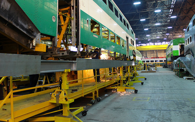 Full rail services rolling stock- ngineering
