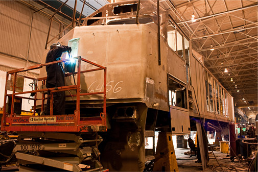 Remanufacturing locomotives for a new generation
