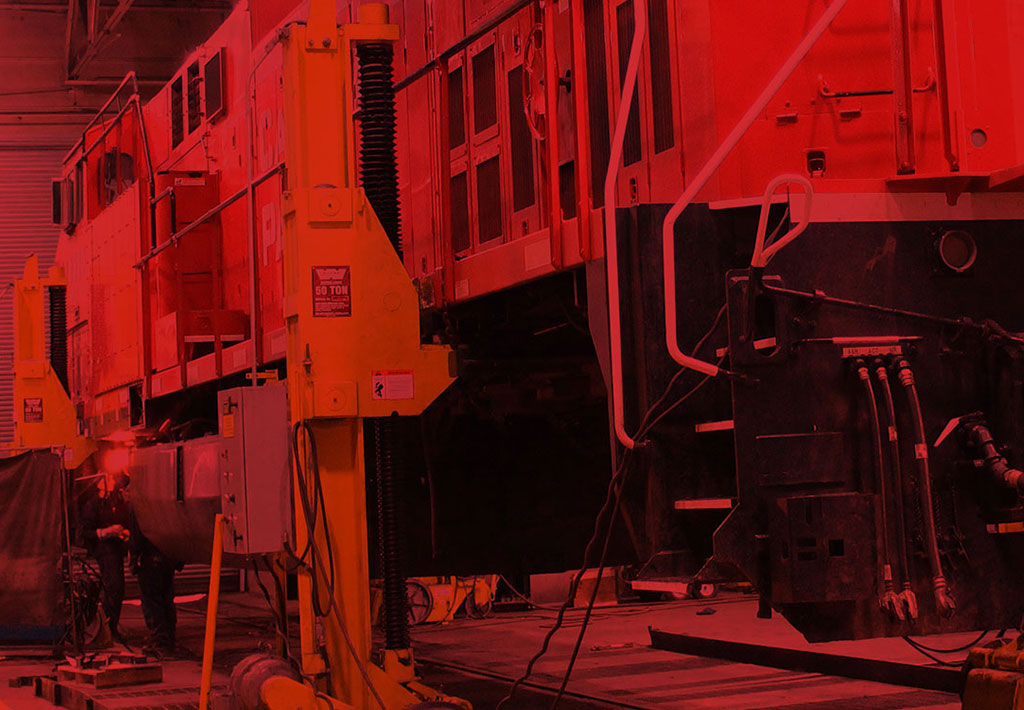 Locomotive repair, modification and remanufacturing by our experts